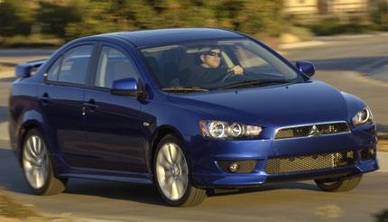 Первые фото Mitsubishi Lancer 2008