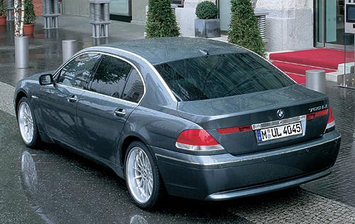 BMW 760Li Individual Girard-Perregaux's