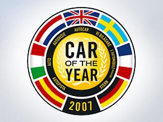 Список кандидатов на звание Автомобиль 2007 года
