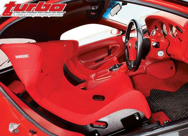 Трехроторный Mazda RX-7 в кузове FD3S