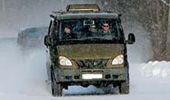Баргузин Mitsubishi и УАЗ